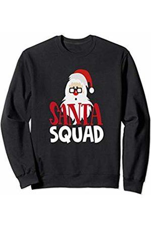 Santa Claus Christmas Tees NYC Santa Squad Christmas Shirt Funny Holiday Kids Teacher Mom Sweatshirt