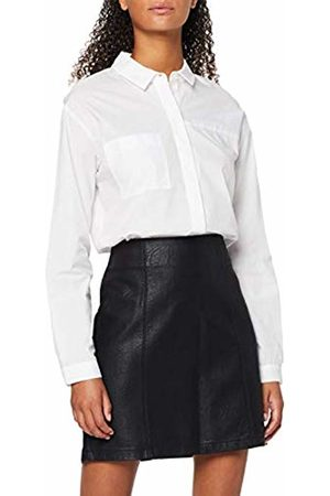 Dorothy Perkins Women's W48:Blk Seam Pu Mini Skirt