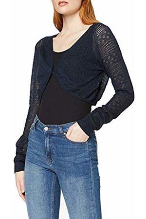 Vero Moda Women's VMTULLE 3/4 Bolero A Shrug, Navy Blazer