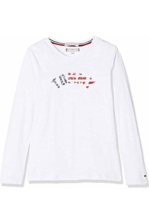 Tommy Hilfiger Girl's Essential Hilfiger Tee L/s Long Sleeve Top