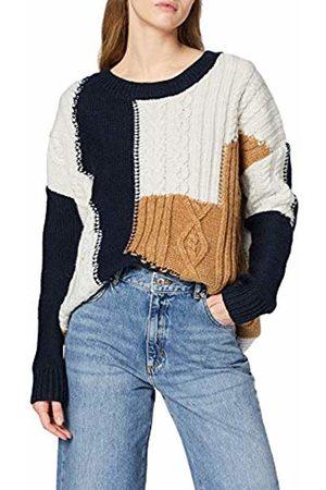 Superdry Women's Codie Stitch Patchwork Knit Jumper