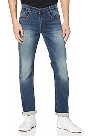 Mac Herren Straight Jeans Arne Authentic wash, Grau H786