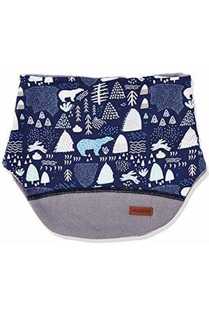 maximo Boys Baby-Steckschal Scarf One Size Mehrfarbig Navy//Cerulean 4821
