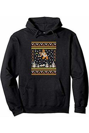 Ugly Christmas Tee Kaboom! Softball Ugly Christmas Funny Holiday Sports Girls Xmas Gift Pullover Hoodie
