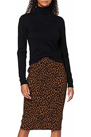 Dorothy Perkins Women's Toffee Animal Skirt