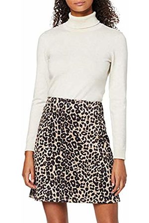 Dorothy Perkins Women's Animal Scuba Mini Skirt