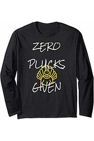 by Crush Zero Plucks Given Thanksgiving Adult Humor Long Sleeve T-Shirt