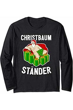 Funny Christmas Joke Santa Gift Funny Adult Naked Santa Claus Joke Gift Christmas Party Long Sleeve T-Shirt