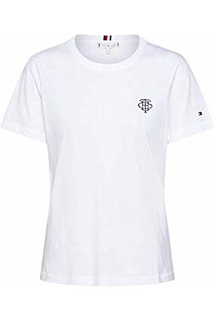 Tommy Hilfiger Women's New TH ESS Embroidery TEE SS T - Shirt