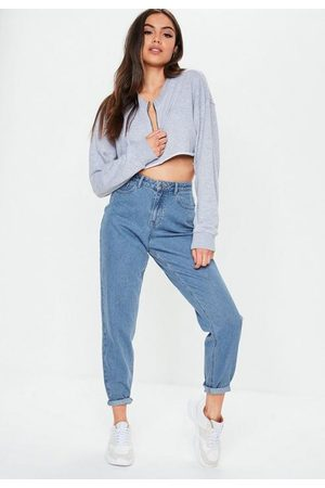 Missguided High Waisted Rigid Mom Jeans
