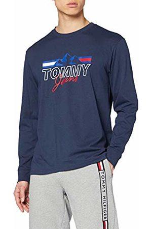Tommy Hilfiger Men's TJM Printed Retro Logo TEE Sport Shirt