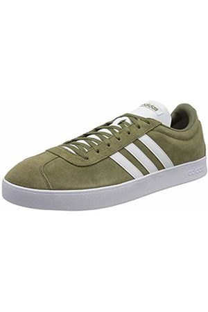 adidas Vl Court 2.0, Men's Skateboarding Shoes, (Raw Khaki/Ftwr )