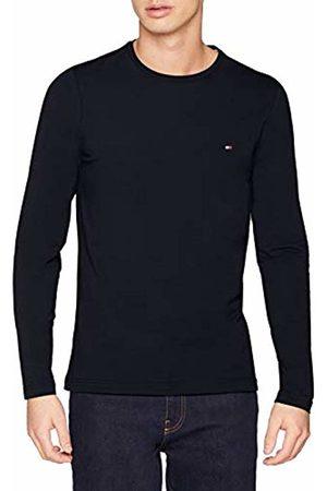 Tommy Hilfiger Men's Stretch Slim FIT Long Sleeve TEE Sport Shirt