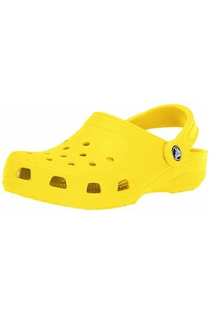 Crocs Classic Unisex Adults T-Bar Pumps, (Lemon)