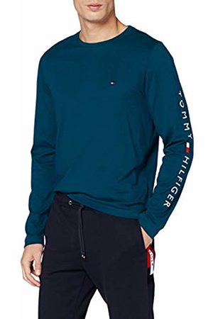 Tommy Hilfiger Men's Tommy Logo Long Sleeve TEE Sport Shirt