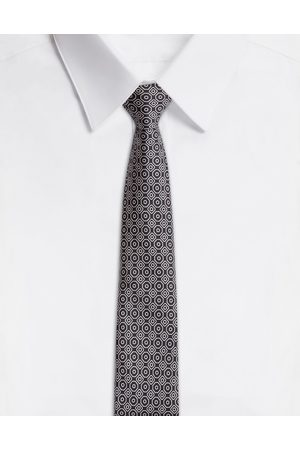 Dolce & Gabbana Men Ties - Ties and Pocket Squares - SILK TIE IN TIE PRINT