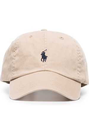 Polo Ralph Lauren Logo-embroidered cotton-canvas cap - Neutrals