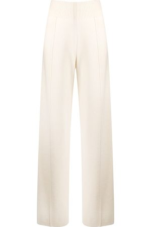 PRINGLE OF SCOTLAND Wide-leg knitted trousers