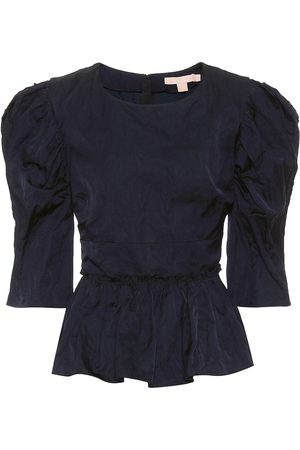 BROCK COLLECTION Qualita jacquard peplum top