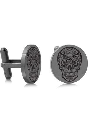 SuperJeweler Skull Cufflinks, Gunmetal