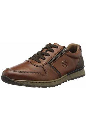 Rieker Men's Herbst/Winter Low-Top Sneakers, (Nut/Ozean/Toffee 26)