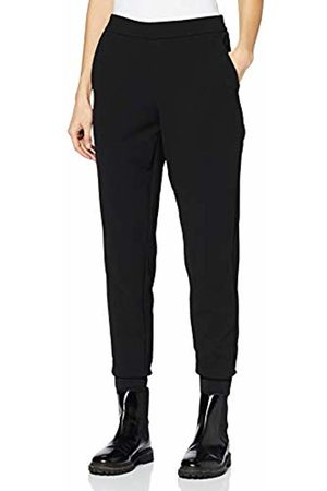 Women Pants Stretch Leggings Fitted Faux Leather Fleece Elastic Adele