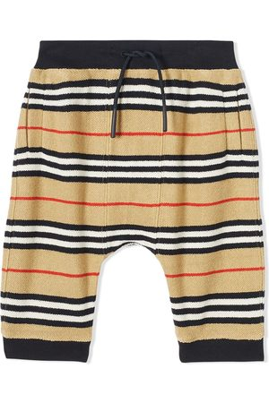Burberry Icon Stripe tracksuit bottoms - NEUTRALS