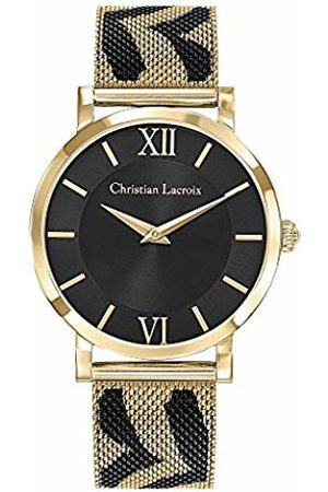 Christian Lacroix Womens Analogue Quartz Watch with Stainless Steel Strap CLWE48