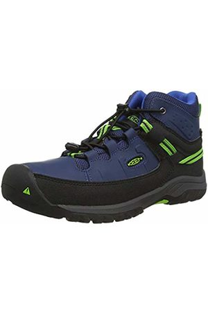Keen Unisex Kids' Targhee Mid, Imperméable High Rise Hiking Shoes, ( Opal/Bright 400)