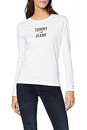 Tommy Hilfiger Women's Tjw Square Logo Longsleeve T-Shirt