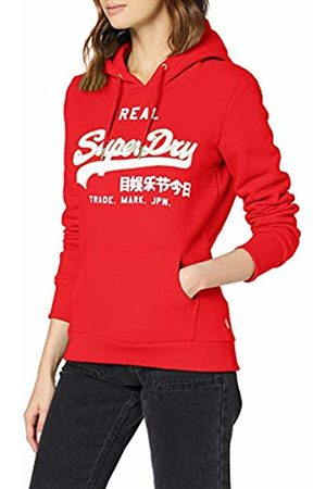 Superdry Women's V Logo CNY Reflective Entry Hood Hoodie