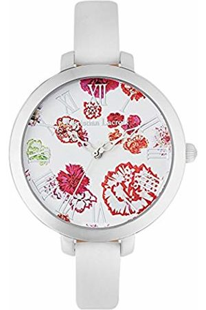 Christian Lacroix Womens Analogue Quartz Watch with Leather Strap CLWE07