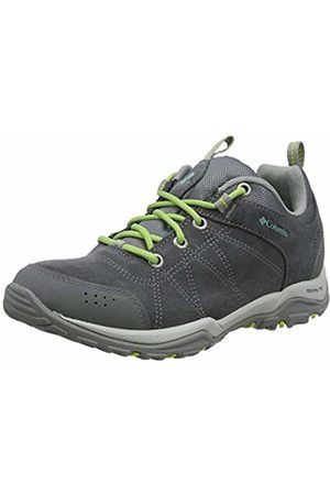 Columbia Women's Fire Venture Waterproof Multisport Outdoor Shoes, Ti Steel/Aquarium