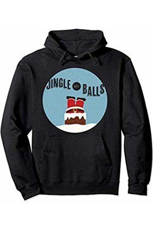 HTX TEES CHRISTMAS Jingle My Balls Adult Christmas Pullover Hoodie