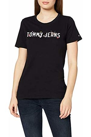 Tommy Jeans Women's Tjw Floral Logo Tee T-Shirt