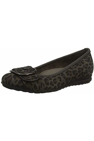 Gabor Shoes Women's Comfort Sport Ballet Flats, (Anthrazit 60)