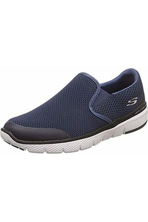 Skechers Men's Flex Advantage 3.0-MORWICK Slip On Shoes, (Navy/ Nvbk)