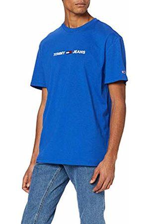 Tommy Hilfiger Men's TJM Straight Small Logo TEE Sport Shirt