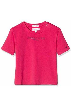 Tommy Hilfiger Baby Girls' Essential Hilfiger Tee S/s T-Shirt