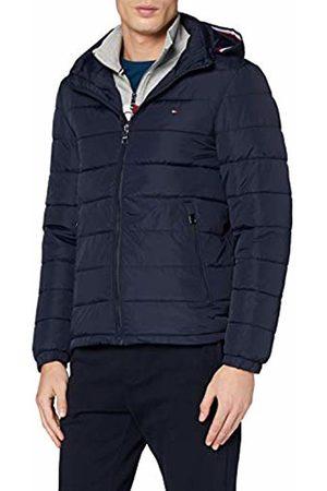 Tommy Hilfiger Men's Quilted Hooded Jacket Bomber