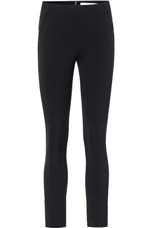 VERONICA BEARD Suba stretch-crêpe skinny pants