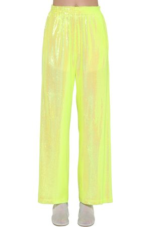 MM6 MAISON MARGIELA Sequined Wide Leg Pants