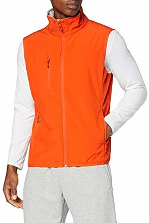 CLIQUE Men's Softshell Vest Gilet Outdoor (Blood )