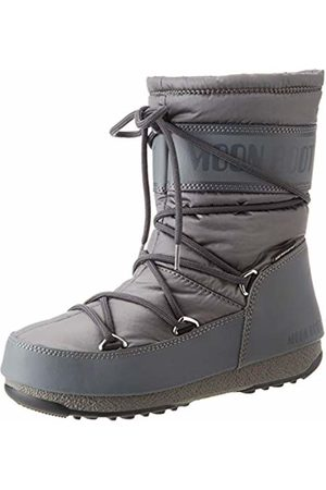 Moon-boot Unisex Adults Mid Nylon Wp Snow Boots, (Grigio 006)