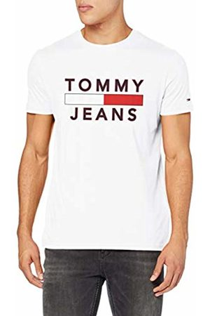 Tommy Hilfiger Men's Tjm Essential Logo Tee Casual Shirt, ( Ya2)