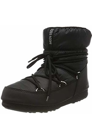 Moon-boot Unisex Adults Low Nylon Wp Snow Boots, (Nero 001)