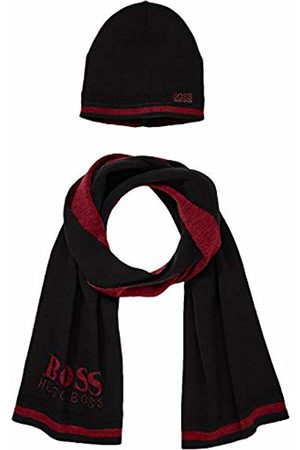 HUGO BOSS Men's Gift ainy_1 Scarf, Hat & Glove Set