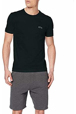 HUGO BOSS Men's Tee Curved Plain T-Shirt