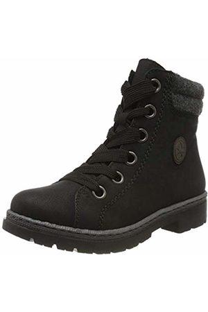 Rieker Women's Herbst/Winter Ankle Boots, (Schwarz/Graphit/Anthrazit / 01 01)