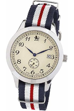 Smart Turnout Heritage Watch with nylon strap in the colours of the Yorkshire Hussars YH/56/W